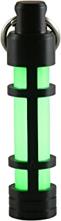 product image for TEC Accessories [Next Generation] EMBRITE Glow Fob: Precision Glow in The Dark Keychain - Anodized Aluminum