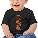 MayDay Cleveland Brown 6 To 24 Months Infant Custom Round Collar Tshirt