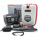 Bushnell Hybrid Laser and GPS Golf Rangefinder 201835 BUNDLE with Carrying Case, Carabiner, Lens Cloth, Wearable4U Golf Brush, and Two (2) CR2 Batteries