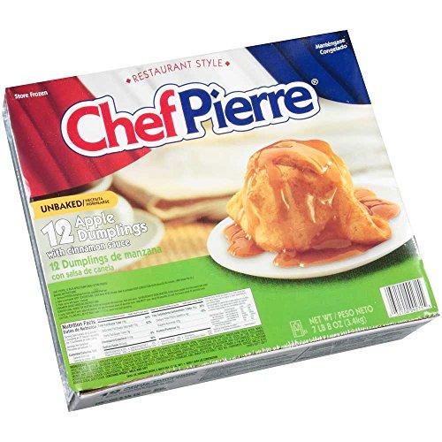 Sara Lee Chef Pierre Apple Dumpling with Cinnamon Sauce -- 36 per case.