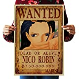 ideas for decorating a bedroom WholesaleSarong NICO Robin Wanted Anime Manga Cosplay Poster Master Bedroom Decorating Ideas