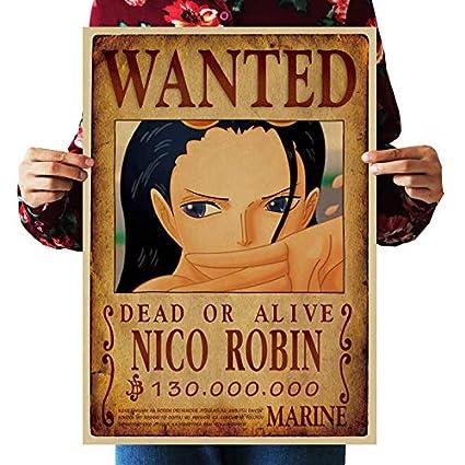 Amazon Com Wholesalesarong Nico Robin Wanted Anime Manga