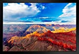 Mather Point Grand Canyon National Park Arizona Photo Framed Poster 20x14 inch