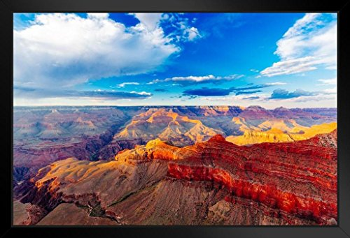 - Mather Point Grand Canyon National Park Arizona Photo Framed Poster 20x14 inch