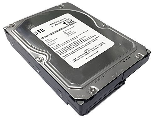 WL 3TB 7200RPM 64MB Cache SATA 6.0Gb/s 3.5' Desktop Hard Drive (For Server, RAID, NAS, DVR, Desktop PC) w/1 Year Warranty