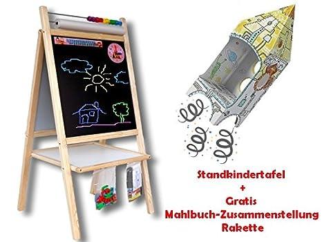 Standtafel Standkindertafel Papierrolle Kindertafel Schreibtafel Maltafel Tafel