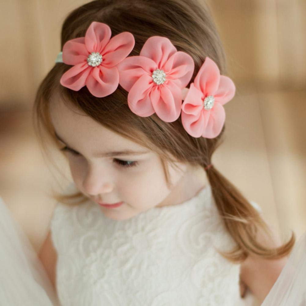 per bambina stile floreale morbida e confortevole graziosa e graziosa blu blu Fascia per beb/è Urben Life