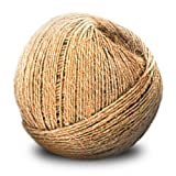 CWC Sisal Binder Twine - 1 Ply, Natural, 4.5# ball (Pack of 10 balls)