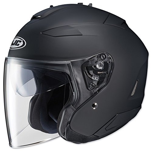 HJC Closeouts IS-33 II Matte Black Open Face Helmet