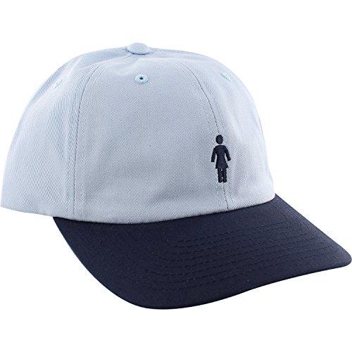 Girl Skateboards OG Micro Blue / Navy Snapback Hat - Adjustable