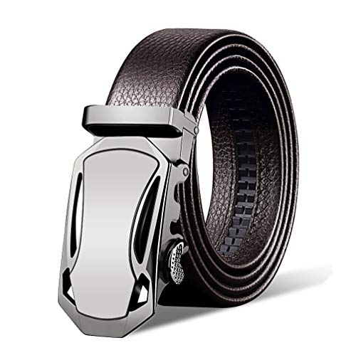 Italian Cow Leather Belt Provides Unbelievable Adjustable Range from 10 to 45 Anywhere You Like - Belts for men in a Exquisite Gift Box