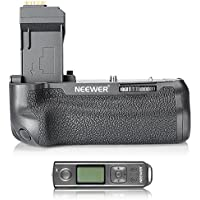 Neewer NW-760D Pro Battery Grip Replacement for BG-E18 with LCD Display Built-in 2.4G Wireless Remote Control for Canon EOS 750D/T6i, 760D/T6s