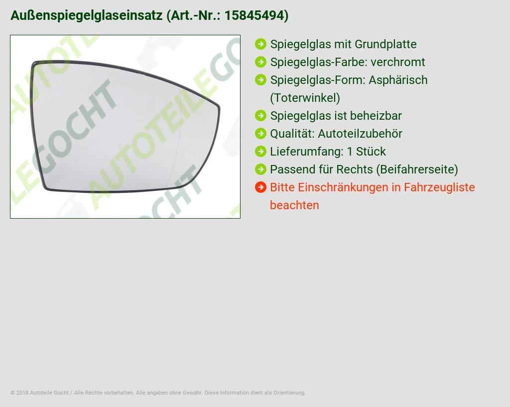 SPIEGELGLAS M GRUNDPLATTE FÜR FORD ECOSPORT