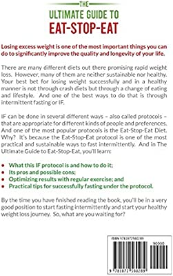 The Ultimate Guide To Eat Stop Eat Lose Weight Heal Your Body And Feel Great By Nourishment Smart Amazon Ae