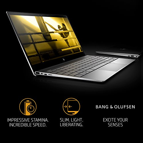 "HP ENVY Thin & Light Laptop - 13"" FHD Touch, Intel Core i7-8550U, 8GB RAM, 256GB SSD, Windows 10 (13-ad120nr, Silver)"