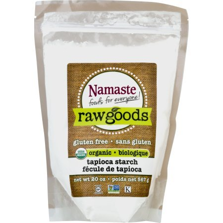 Namaste Foods Raw Goods Gluten Free Organic Tapioca Starch, 20 oz (Pack of 2)