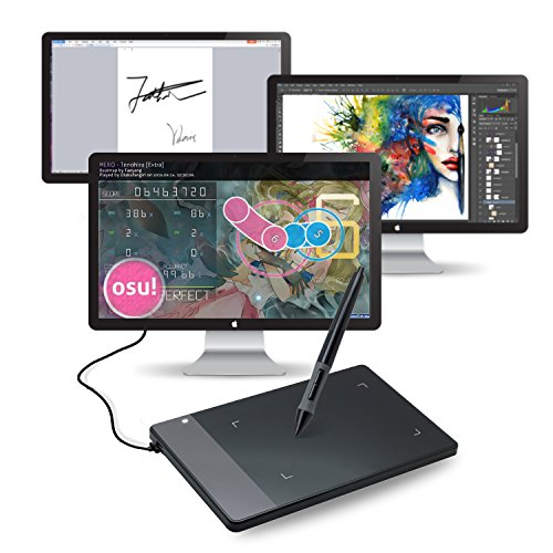 Huion 420 Black 4-by-2.23 Inches Osu! Tablet Graphic