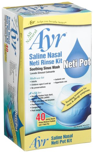 Ayr Soothing 40 Count Mixture Packets product image