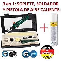 SOLDADOR A GAS PROFESIONAL RECARGABLE 3/1 SOLDAR, SOPLETE