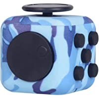 12 Side Fidget Cube,Best Fidget Toy Cube Relief Stress and Anxiety Depression Anti for Kids and Adults with ADD, ADHD…