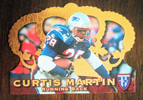 Curtis Martin - 1996 Pacific Crown Royale Gold Foil # 99 Die Cut (DC) CR-99 - New England Patriots/New York Jets/Pittsburgh Panthers ()