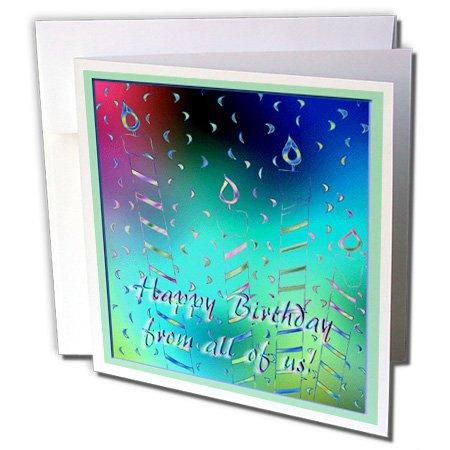 Amazon.com: Beverly espátula diseño – Pastel Velas, Feliz ...