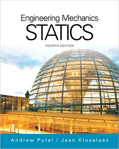 Engineering mechanics statics activate learning with these new engineering mechanics statics activate learning with these new titles from engineering 4th edition by andrew pytel fandeluxe Gallery