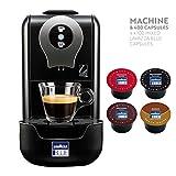 Lavazza Blue LB910 Single Serve Espresso Coffee Maker Bundle with 400 Mixed Lavazza Blue Capsules Pods