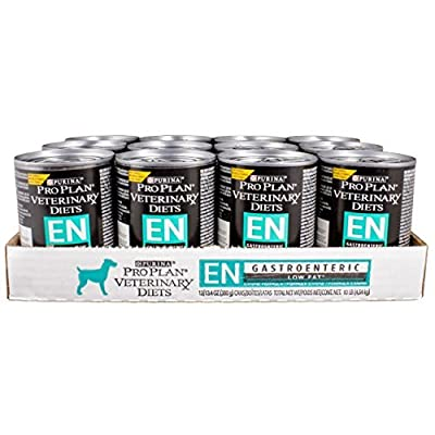 Purina Veterinary Diets Canine EN [GastroENteric] Low Fat Canned Formula [13.4 Oz] (12 Count) by Purina