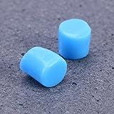 Healifty Silicone Earplugs for Swim Bath Sleep Noise Reducing 9Pcs(Blue)
