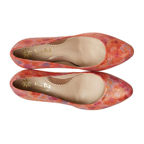 Van Dal Print Closed Coral Albion Toe Blossom Pumps Women's zSOrdgzn