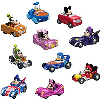 Fisher-Price Disney Mickey & the Roadster Racers, Hot Rod 10-Pack [ Exclusive]: Toys & Games