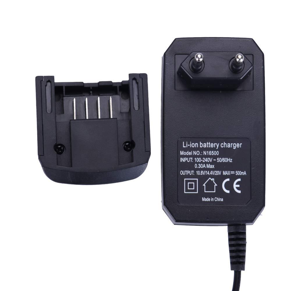 Cargador de batería li-ion para Black & Decker LCS1620 Batería de ion de litio 20V para baterías de 14.4V 18V 20 voltios