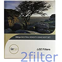 Lee Filters SW150 Soft Edge Grad ND Set - Includes 0.3, 0.6 & 0.9 Soft Edge Grads