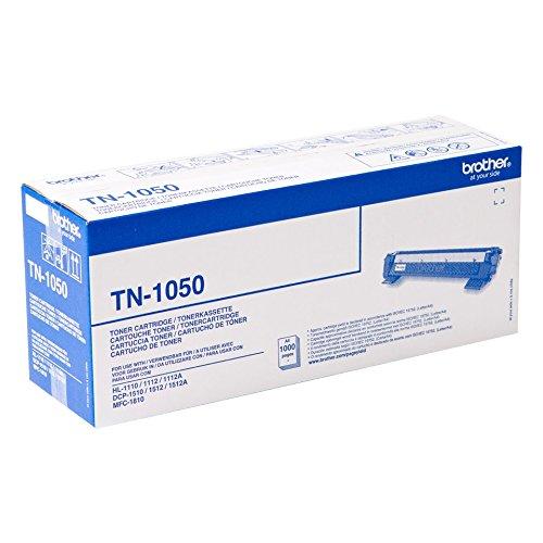 Brother TN1050 Toner, Stampa fino a 1000 Pagine, Nero TN-1050