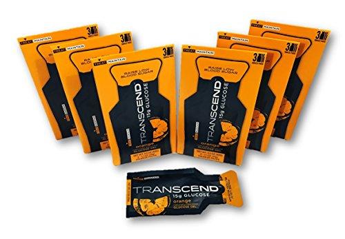 Transcend 15g Orange Glucose Gels in 3-Packs (6)