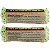 IIT 48797 Glow-in-the-Dark Rope 3/16 Inch x 50 Feet - by IIT