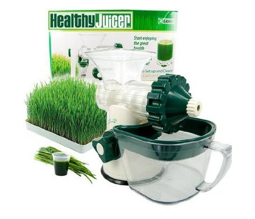The Original Healthy Juicer (Lexen GP27) - Manual Wheatgrass Juicer...