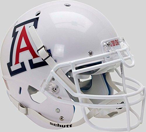 Schutt NCAA Arizona Wildcats Football Helmet Desk Caddy, White Alt. 7, Mini - Ncaa Arizona Wildcats Helmet