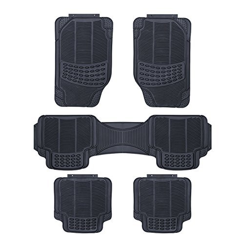 Rhino Automotive/© UNIVERSAL 5 PIECE MPV HEAVY DUTY RUBBER CAR MATS RW1485