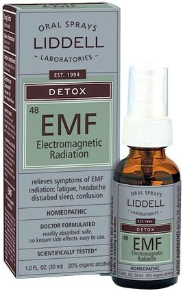 Liddell Homeopathic Anti-Tox Elecentero Magnetic EMF Radiation, 1 Ounce