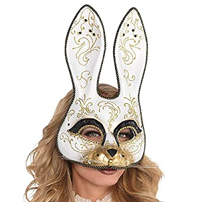 Venetian Rabbit Mask - Party Supplies: Toys & Games