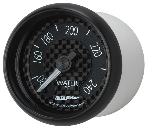 Auto Meter 8032 GT Series Mechanical Water Temperature Gauge by Auto Meter (Image #1)