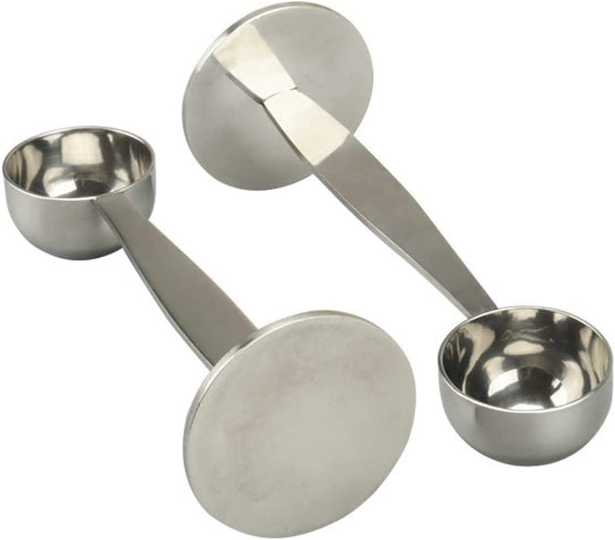 Cucchiaino da caff/è Misurino e Tamping Multi-funzione in acciaio inox