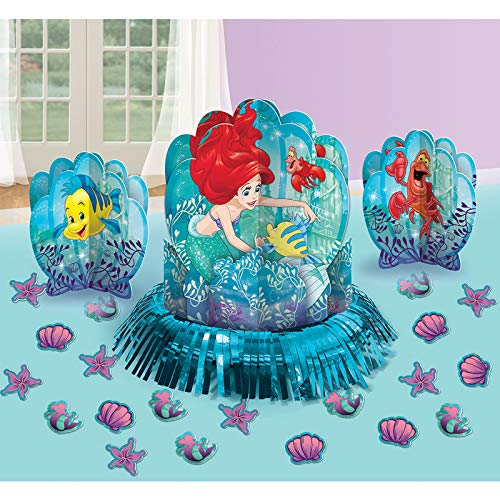 Disney Ariel The Little Mermaid Dream Big Table Decorating Kit 23 pieces Party -