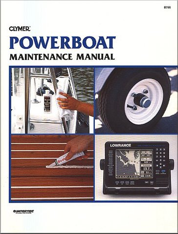 Price comparison product image Clymer Shop Manual Powerboat Maintenance Manual WSM B700