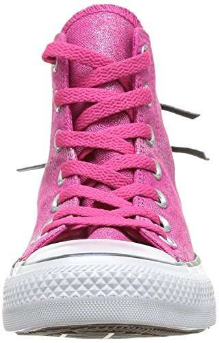 Womens Chuck Rose Tri HI Femme Taylor Sparkle Wash All Star Zip Sneakers mit Converse UdBxHU