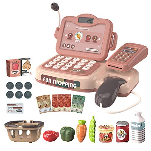 SeedSeat Pretend Play Cash Register for Kid with