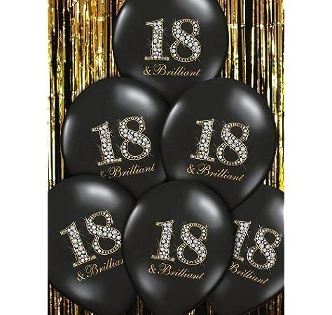 Confeti para celebración de 18 cumpleaños, Amscan 9900555 ...