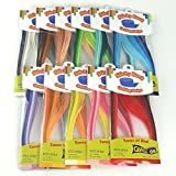 Colour Splendor - Sticky Back 5 mm Quilling Strips - 1100 Strips in 44 Shades